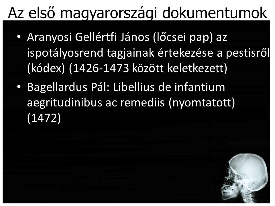 Az első magyarországi dokumentumok