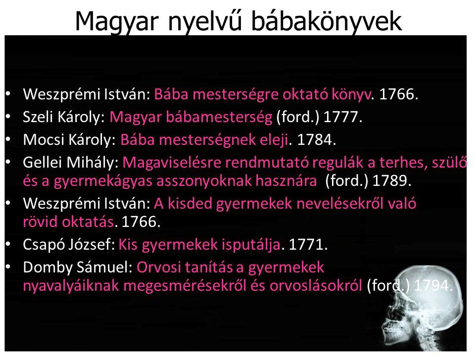 Magyar nyelvű bábakönyvek