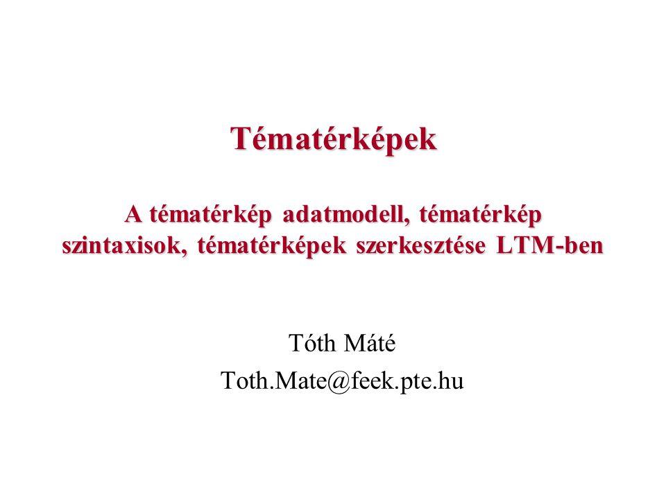 Tóth Máté Toth.Mate@feek.pte.hu