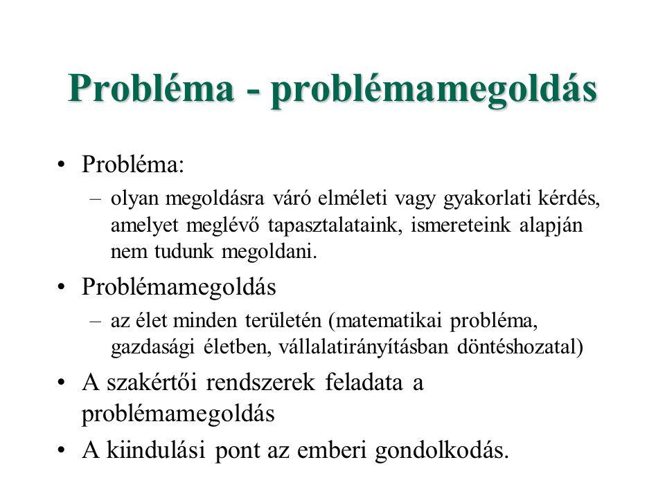 Probléma - problémamegoldás