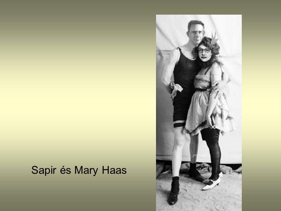 Sapir és Mary Haas