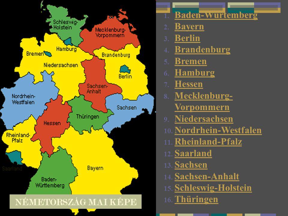 Mecklenburg-Vorpommern Niedersachsen Nordrhein-Westfalen