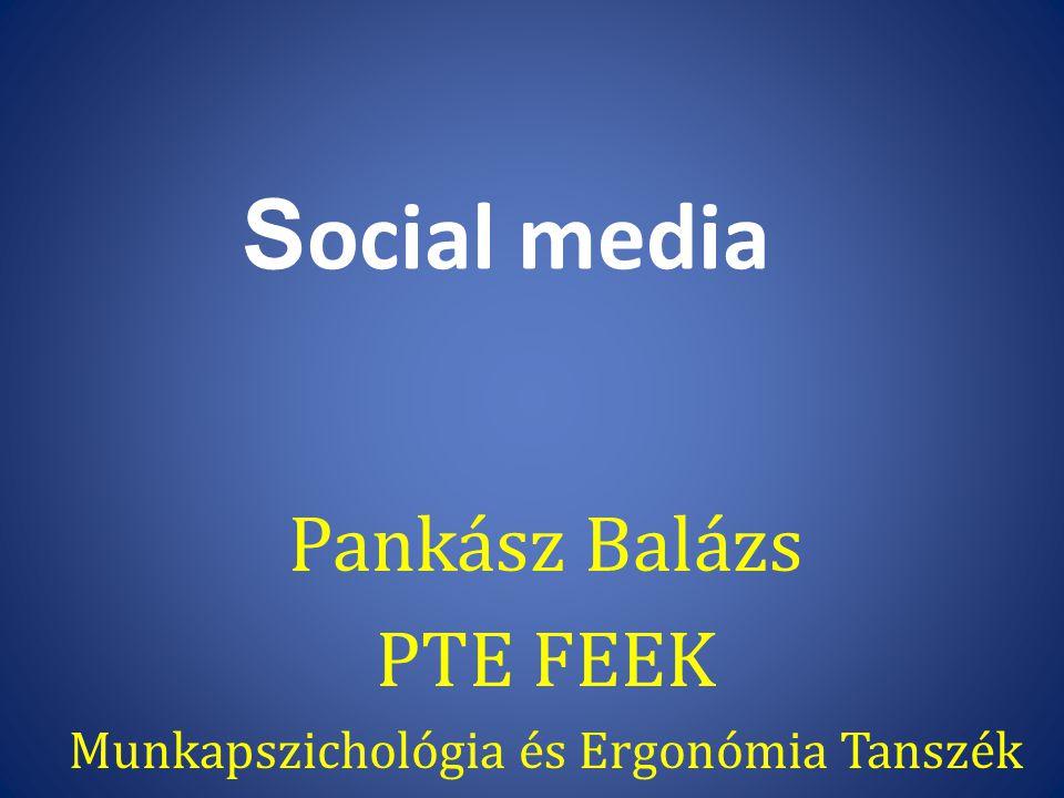 Pankász Balázs PTE FEEK Munkapszichológia és Ergonómia Tanszék
