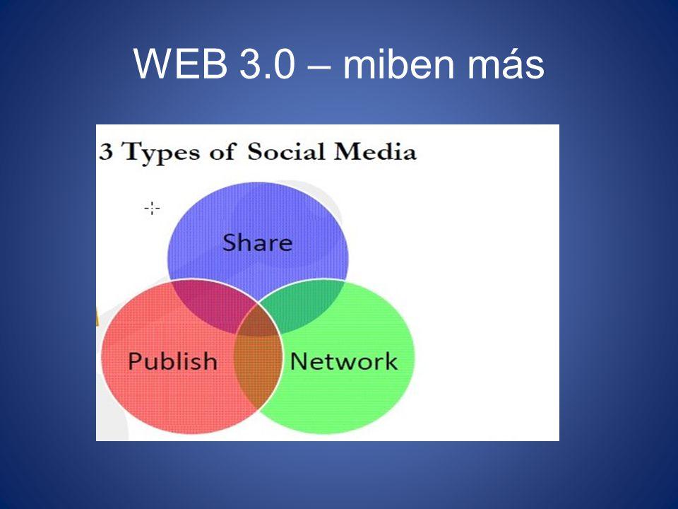 WEB 3.0 – miben más