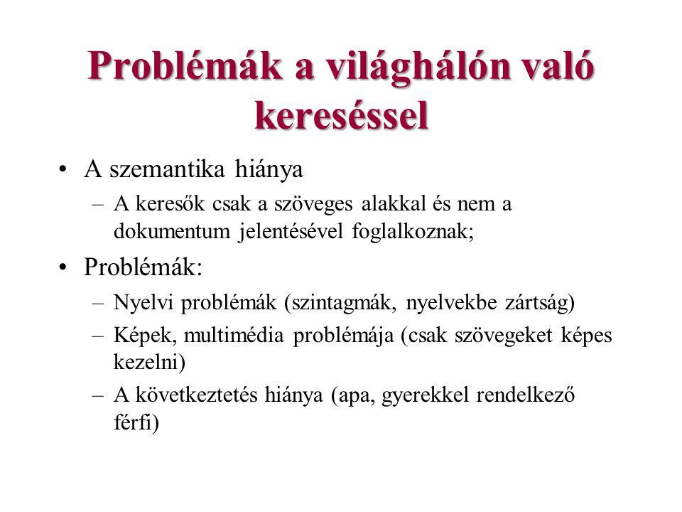 Problémák a világhálón való kereséssel