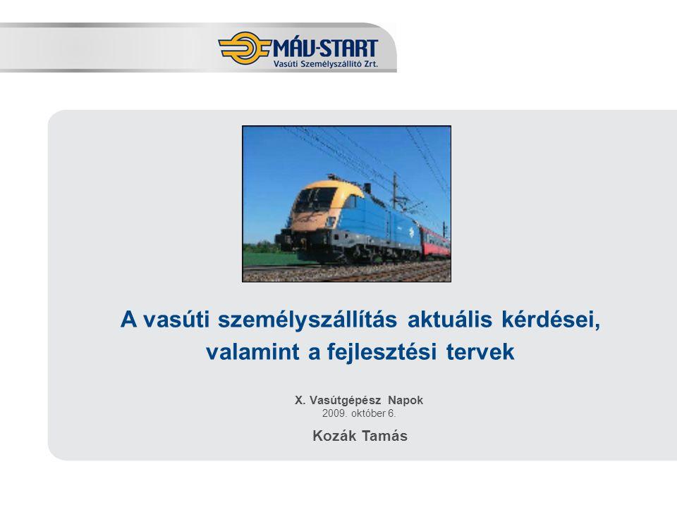 X. Vasútgépész Napok 2009. október 6.
