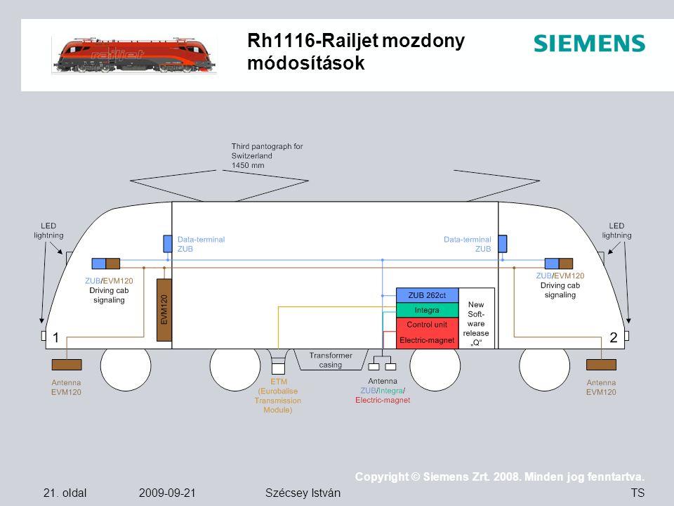 Rh1116-Railjet mozdony módosítások