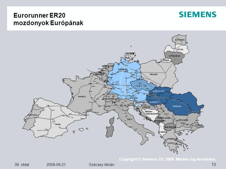 Eurorunner ER20 mozdonyok Európának