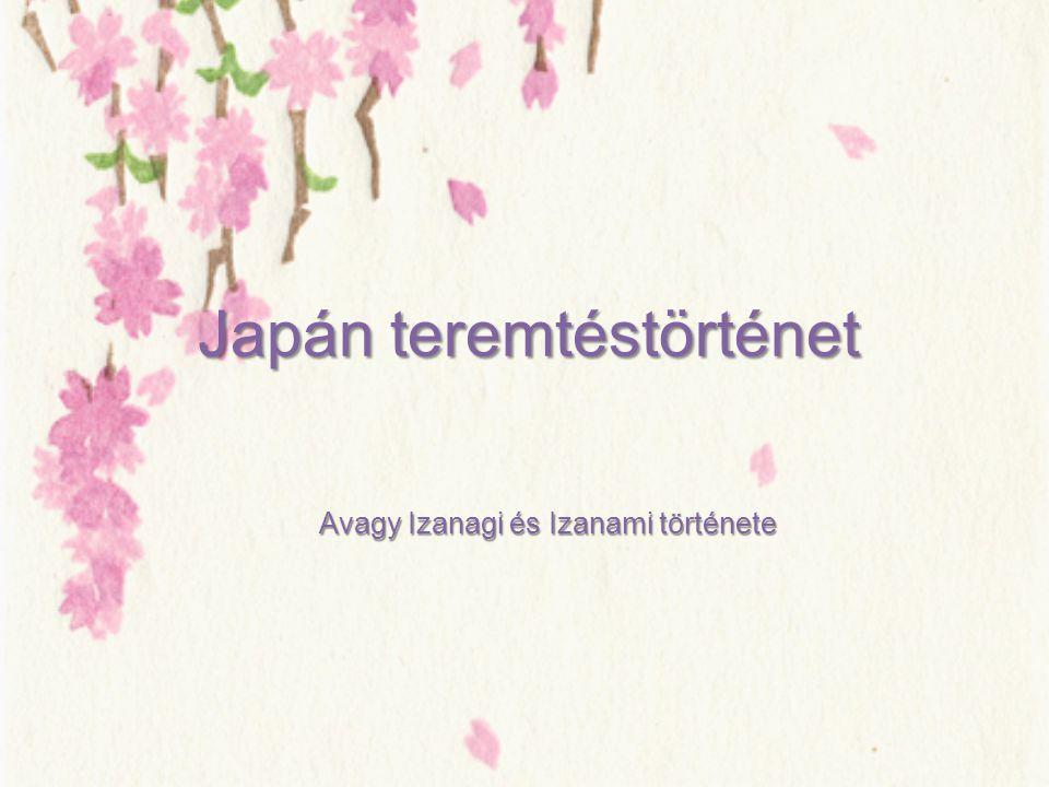 Japán teremtéstörténet