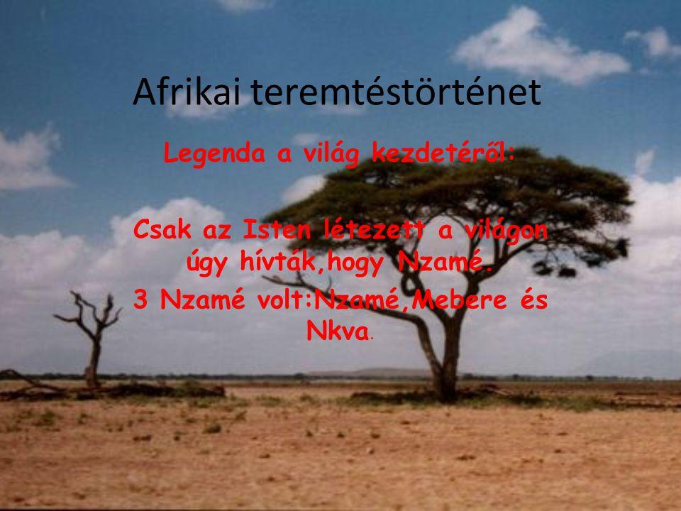 Afrikai teremtéstörténet