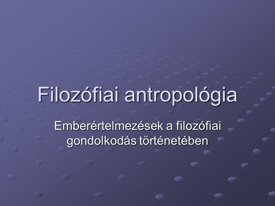 Filozófiai antropológia
