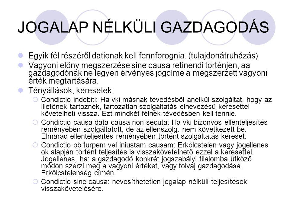 JOGALAP NÉLKÜLI GAZDAGODÁS