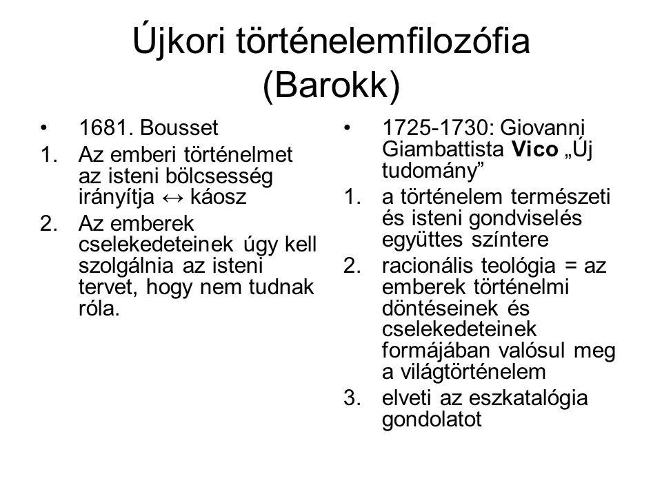 Újkori történelemfilozófia (Barokk)