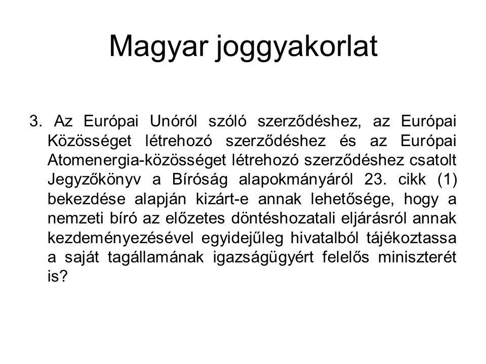 Magyar joggyakorlat