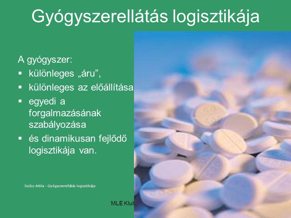Gyógyszerellátás logisztikája