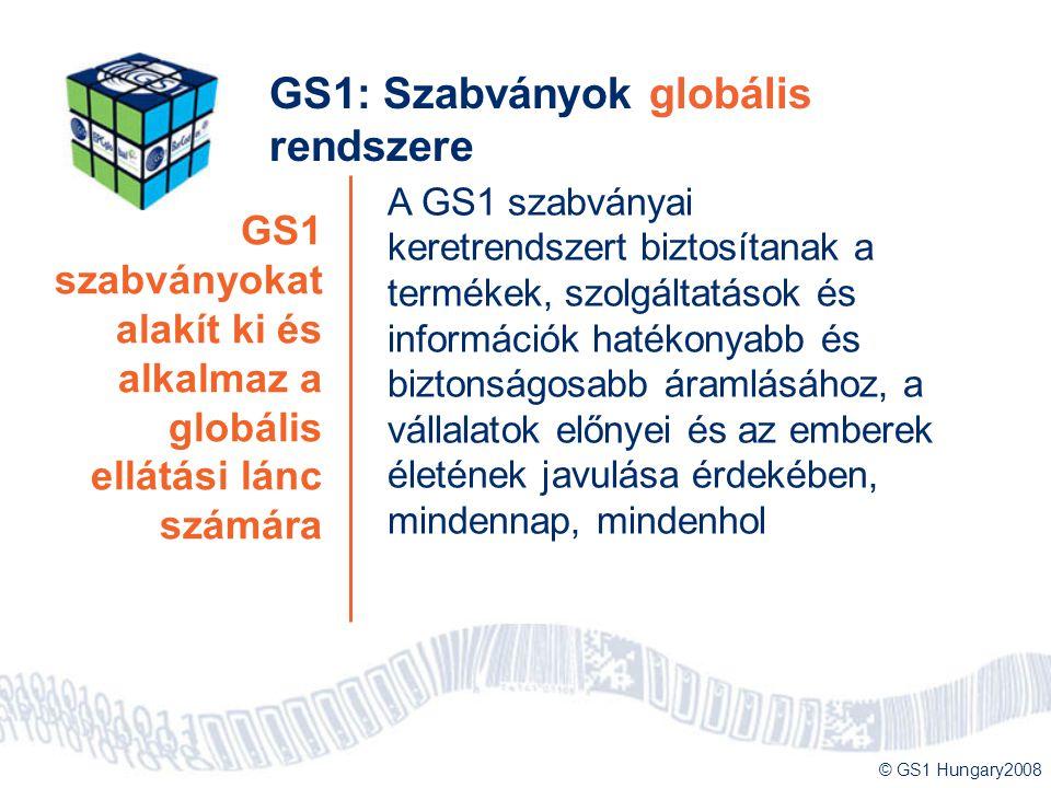 GS1: Szabványok globális rendszere