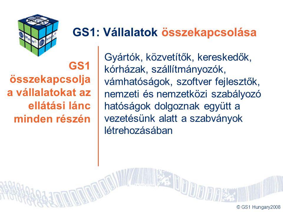 GS1: Vállalatok összekapcsolása