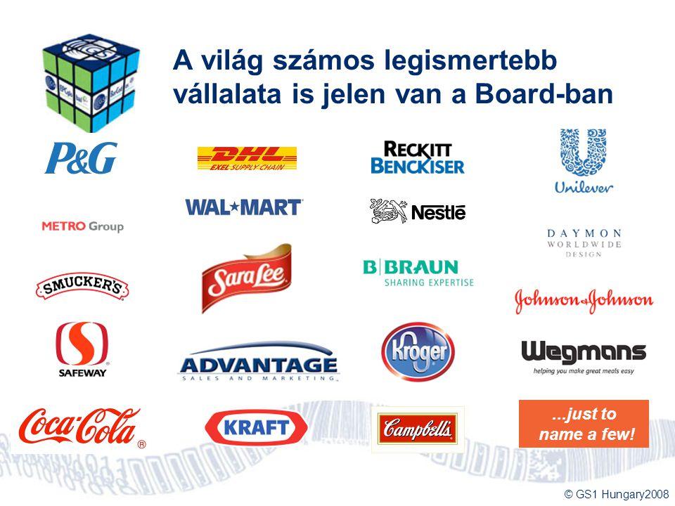 A világ számos legismertebb vállalata is jelen van a Board-ban