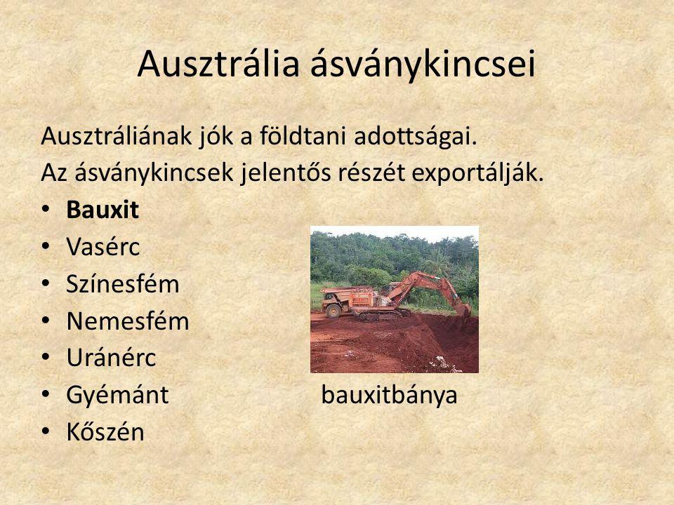 Ausztrália ásványkincsei