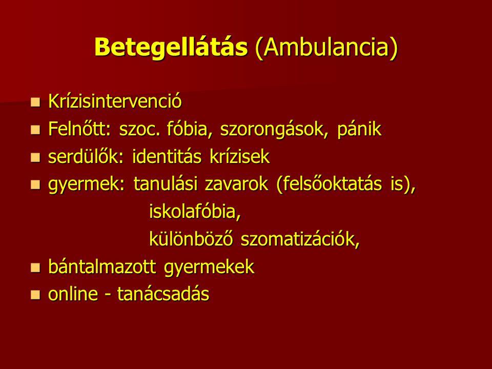 Betegellátás (Ambulancia)