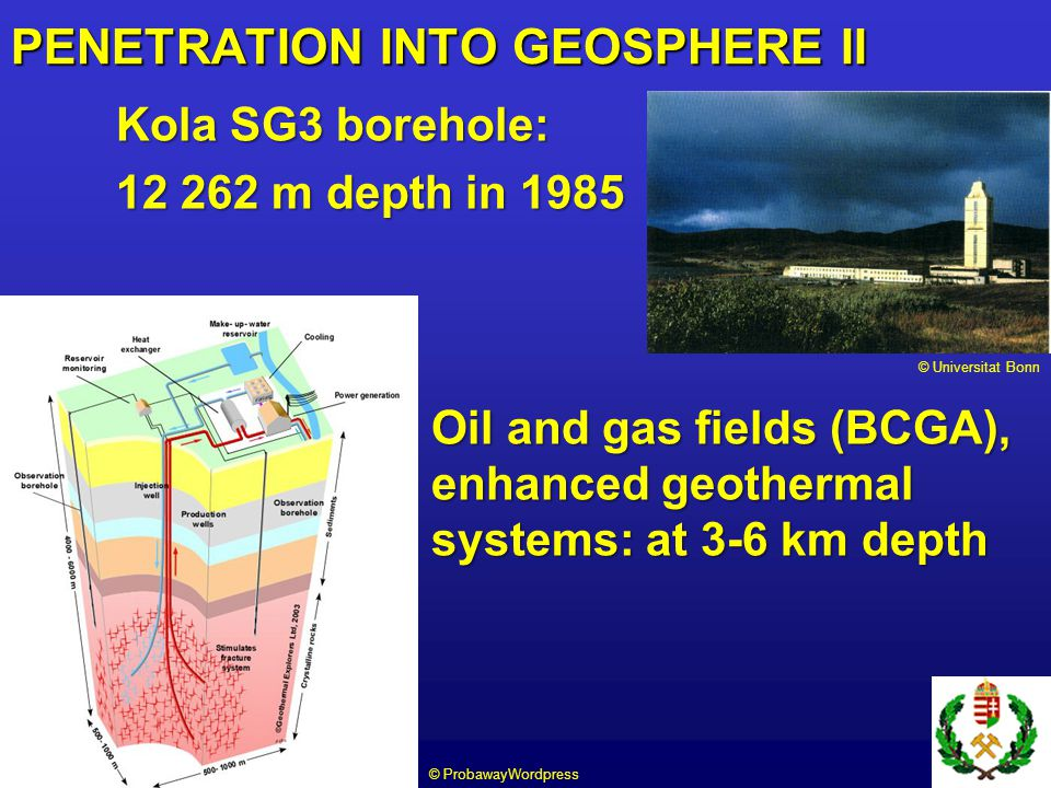 PENETRATION INTO GEOSPHERE II