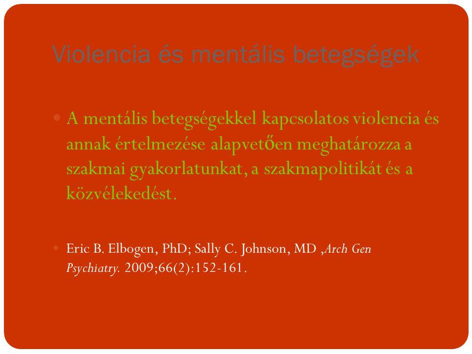 Violencia és mentális betegségek
