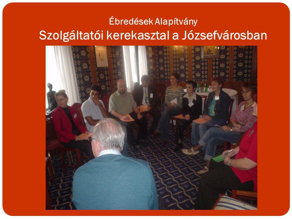 Ébredések Alapítvány Szolgáltatói kerekasztal a Józsefvárosban