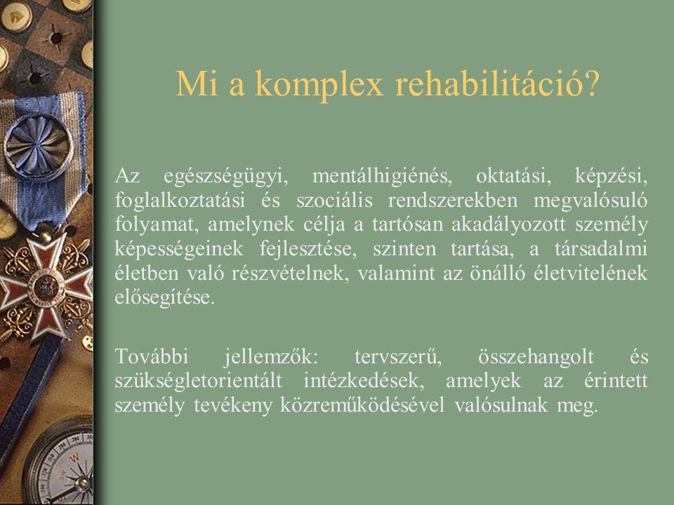 Mi a komplex rehabilitáció