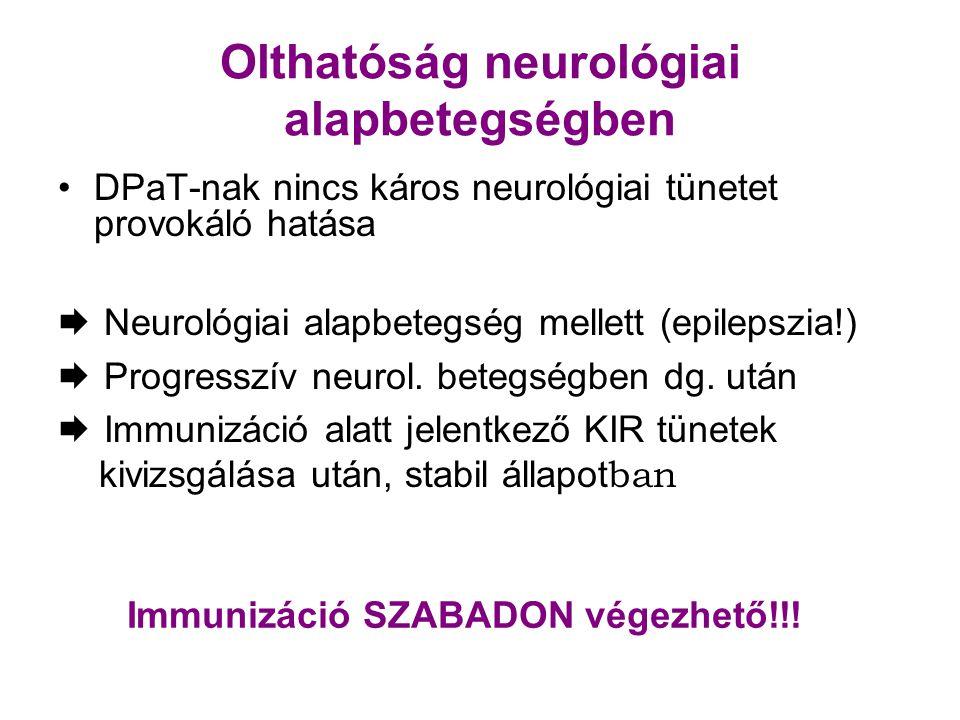 Olthatóság neurológiai alapbetegségben