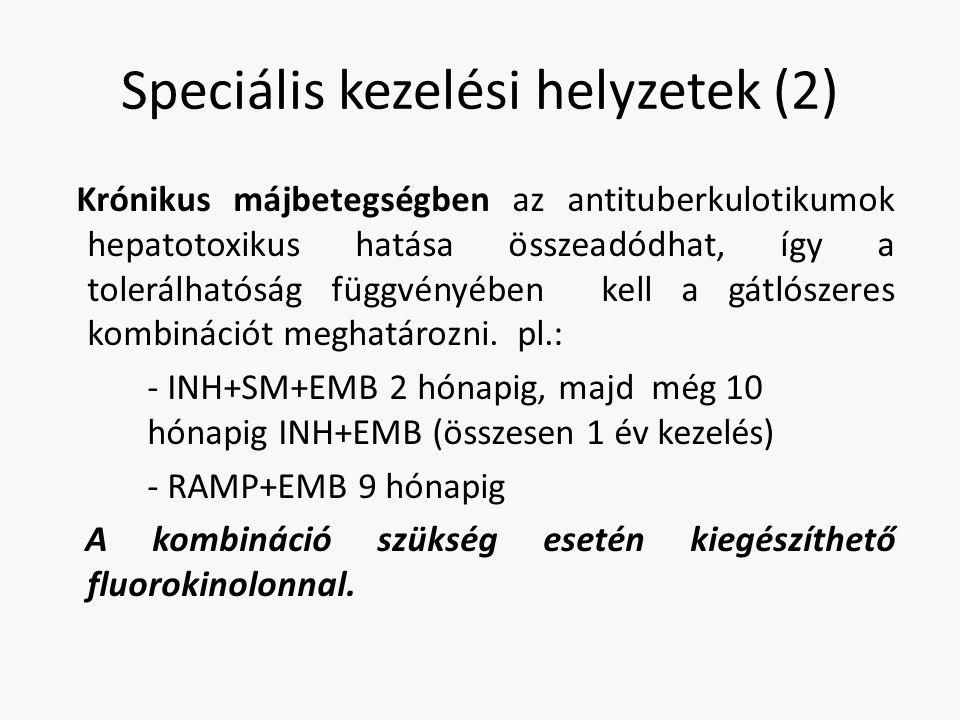 Speciális kezelési helyzetek (2)