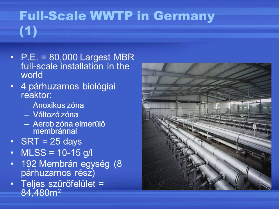 Full-Scale WWTP in Germany (1)
