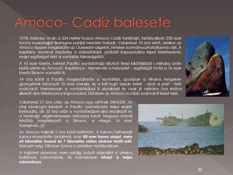 Amoco- Cadiz balesete