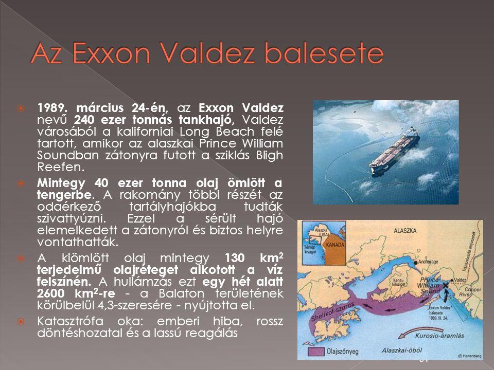 Az Exxon Valdez balesete