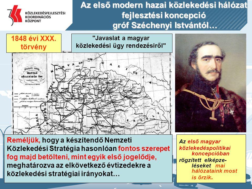 Javaslat a magyar közlekedési ügy rendezésiről