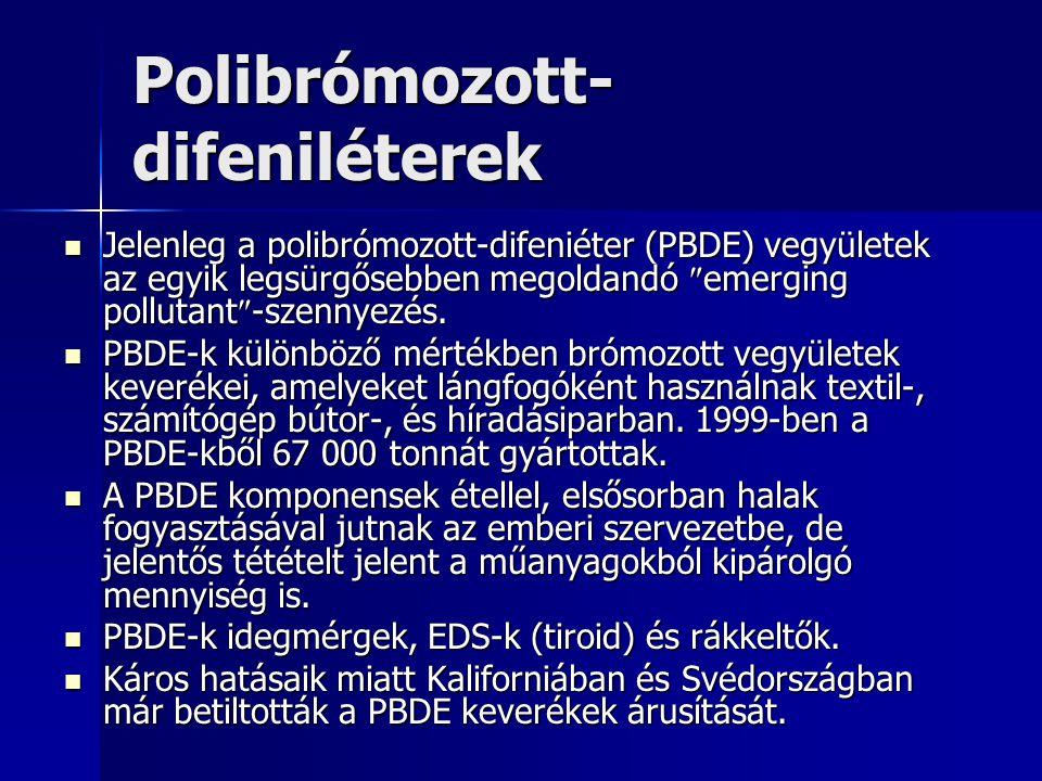 Polibrómozott-difeniléterek