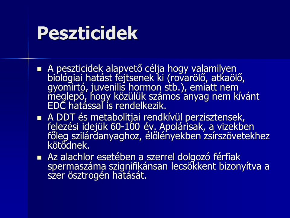 Peszticidek