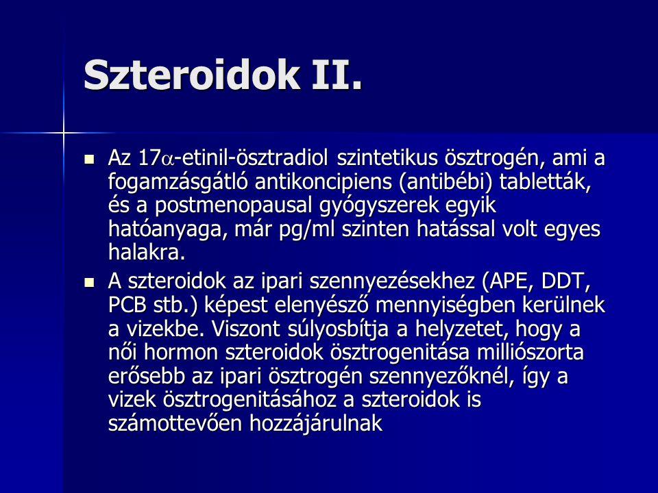Szteroidok II.