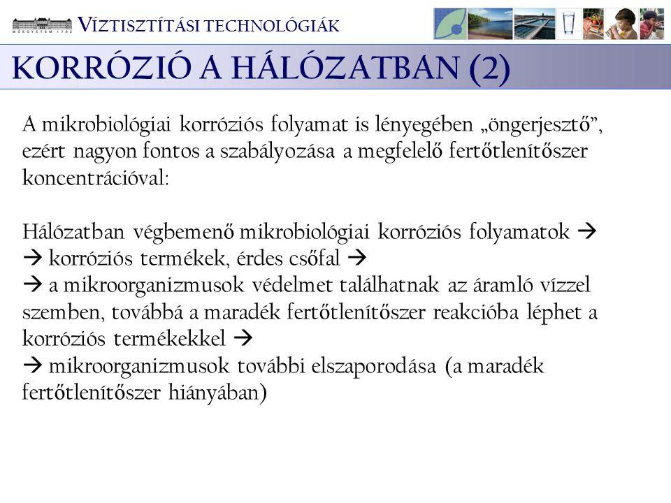 KORRÓZIÓ A HÁLÓZATBAN (2)