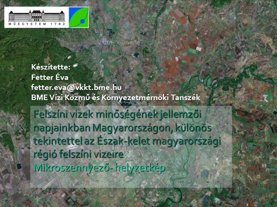 Készítette: Fetter Éva. fetter.eva@vkkt.bme.hu. BME Vízi Közmű és Környezetmérnöki Tanszék.