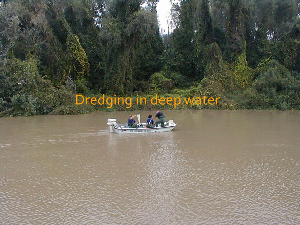 Dredging in deep water
