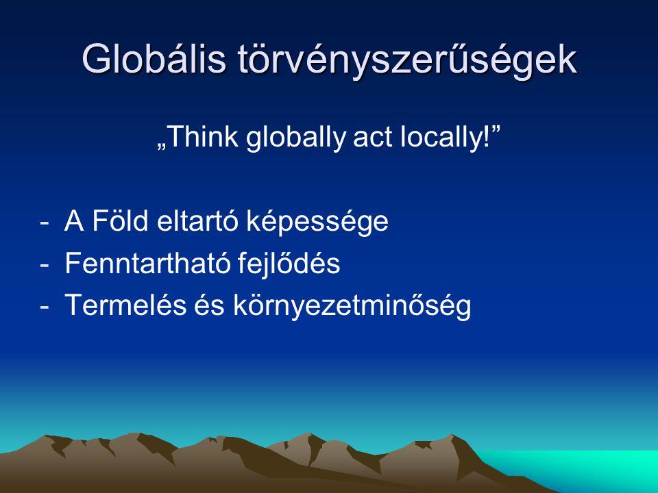 Globális törvényszerűségek