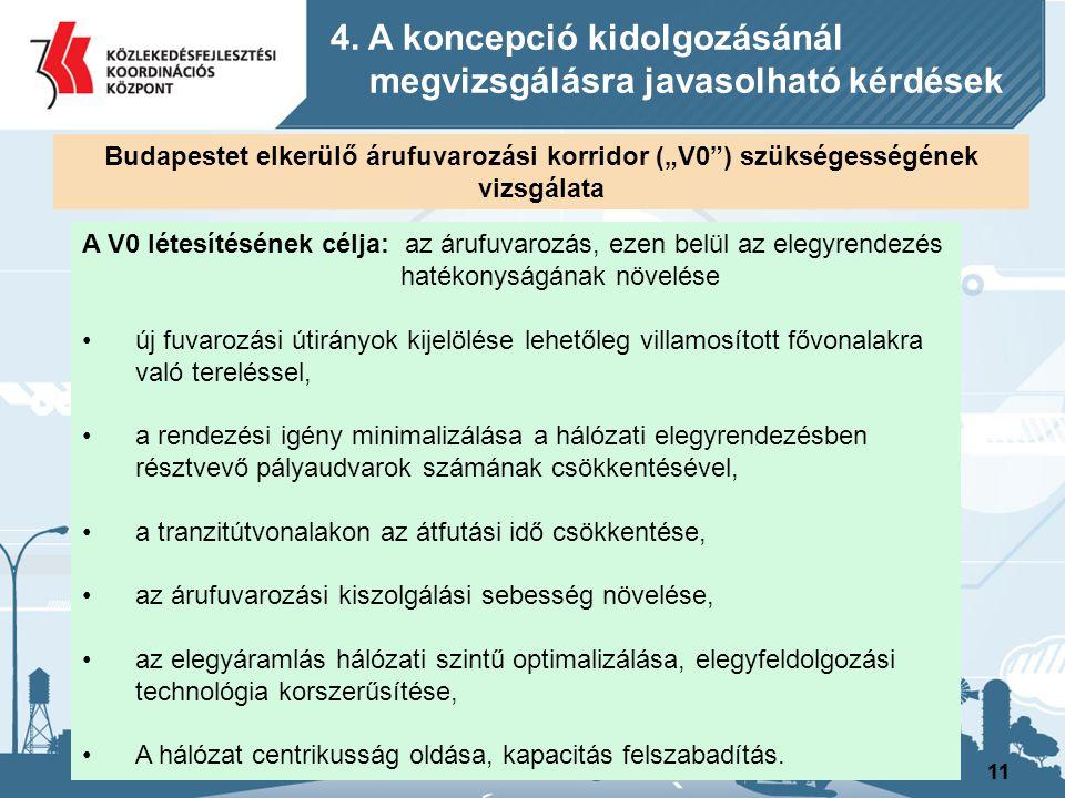 4. A koncepció kidolgozásánál megvizsgálásra javasolható kérdések