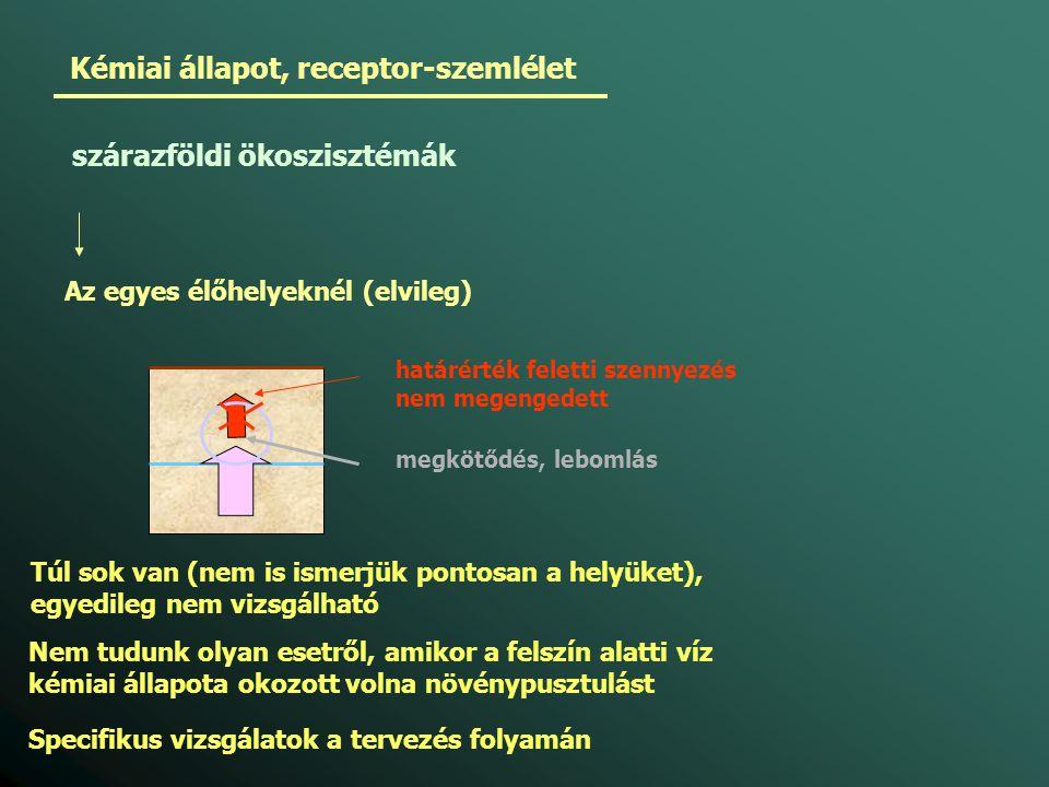 Kémiai állapot, receptor-szemlélet