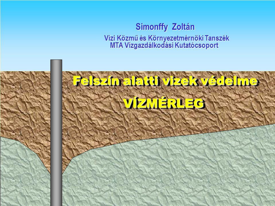 Felszín alatti vizek védelme