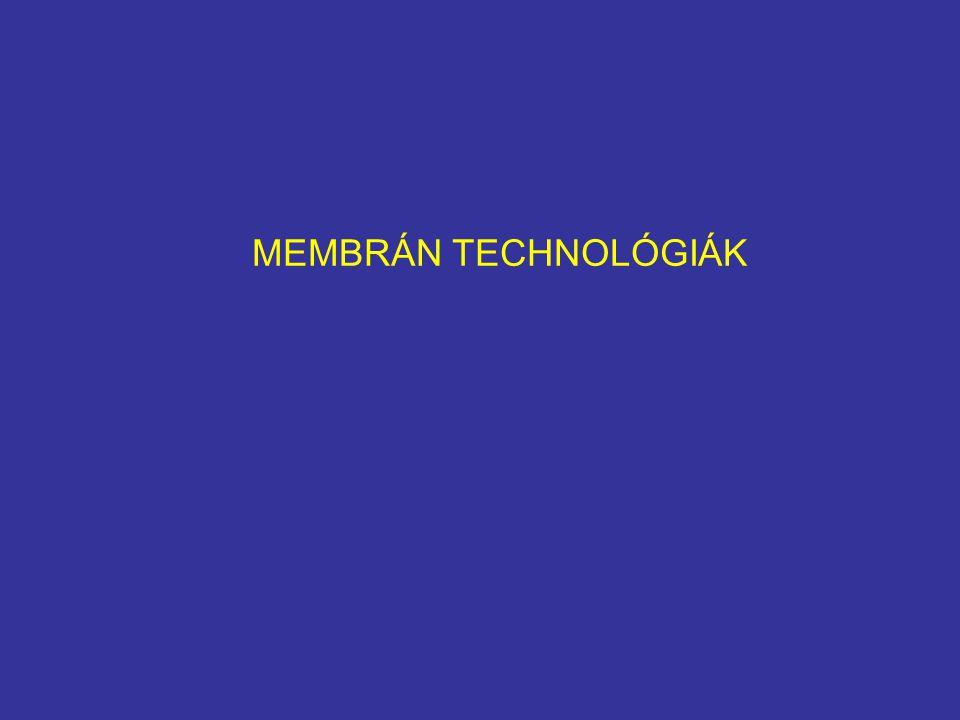 MEMBRÁN TECHNOLÓGIÁK