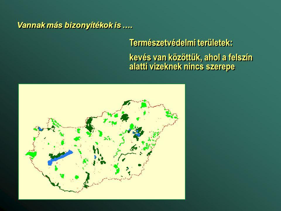 Természetvédelmi területek: