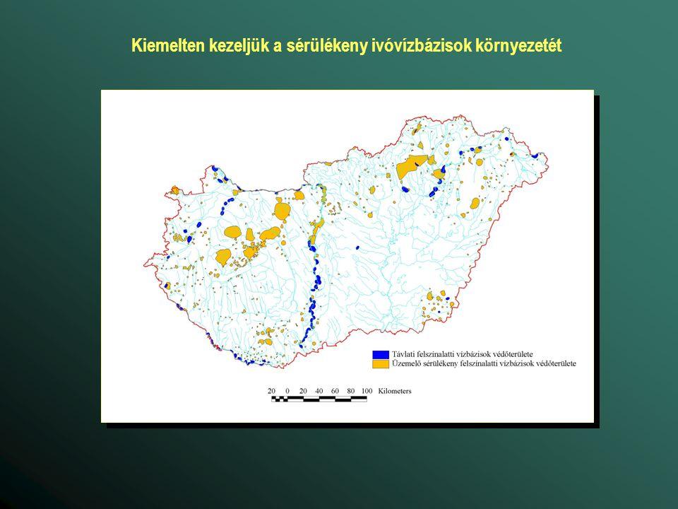 Kiemelten kezeljük a sérülékeny ivóvízbázisok környezetét