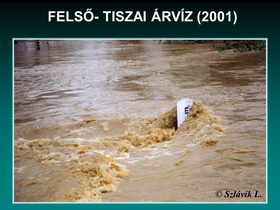 FELSŐ- TISZAI ÁRVÍZ (2001) © Szlávik L.