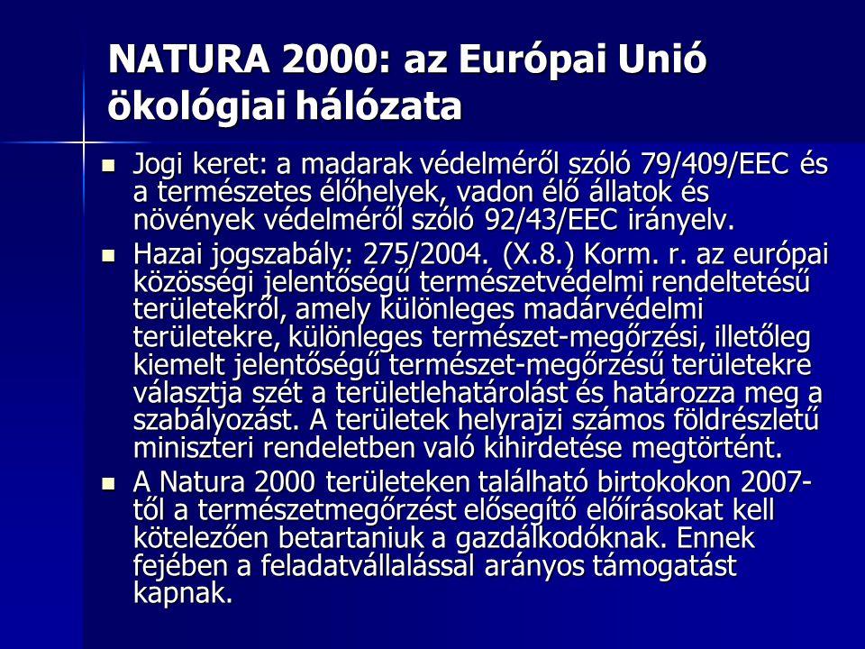 NATURA 2000: az Európai Unió ökológiai hálózata