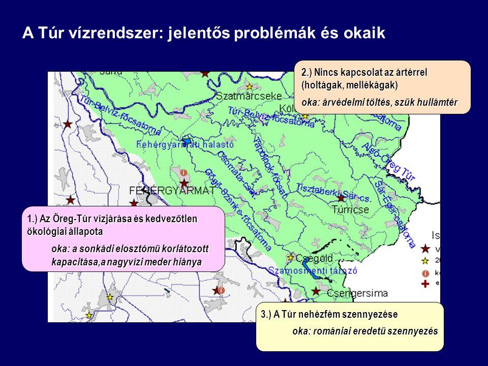 A Túr vízrendszer: jelentős problémák és okaik